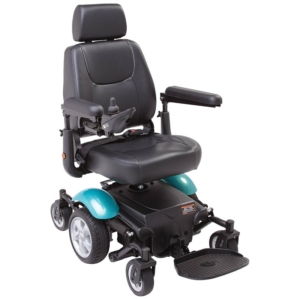 Rascal P327 Mini Powerchair - Teal